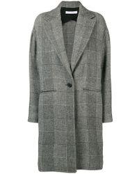 IRO - Stitch-detail Single Breasted Coat - Lyst