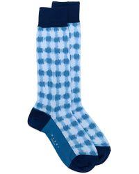 Marni - Checked Socks - Lyst