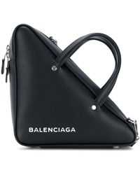 Balenciaga - Triangle Shopper M - Lyst