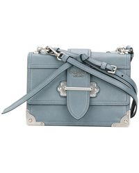 Prada - Cahier Shoulder Bag - Lyst