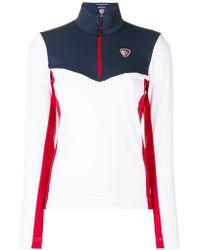 Rossignol - X Tommy Hilfiger Colour Block Zipped Sweatshirt - Lyst