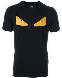 Fendi 'monster' T-shirt - Black