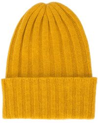The Elder Statesman - Rib Knit Beanie - Lyst