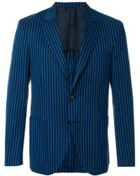 Mp Massimo Piombo - Picasso Striped Blazer - Lyst