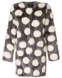 Unreal Fur Faux Fur Bubbles Coat