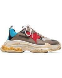 Balenciaga - Multicoloured Triple S Sneaker - Lyst