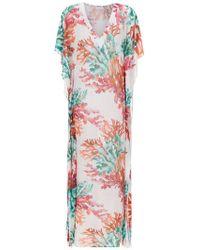 Brigitte Bardot - Printed Beach Dress - Lyst
