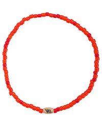 Luis Morais - Small Horus Eye Barrel Bracelet - Lyst