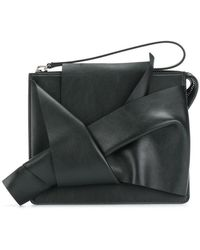 N°21 | Abstract Bow Clutch Bag | Lyst