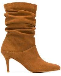 Stuart Weitzman Bottines froncées Crush