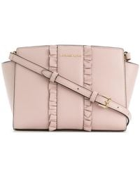 Michael Kors - Frill Embellished Shoulder Bag - Lyst