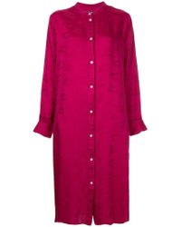 Hysteric Glamour - Jacquard Shirt Dress - Lyst