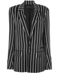 Haider Ackermann - Striped Blazer - Lyst