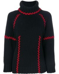Alexander McQueen - Chunky Turtle Neck Jumper - Lyst
