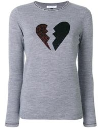 Bella Freud - Heart Breaker Jumper - Lyst