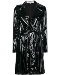 Galvan London - Gloss Belted Trench Coat - Lyst