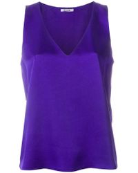 Styland - Sleeveless Design Blouse - Lyst
