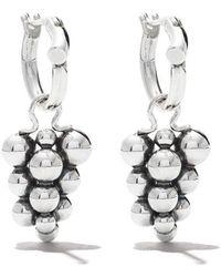 b060e2b96 Georg Jensen Astrid Sterling Silver Stud Earrings in Metallic - Lyst
