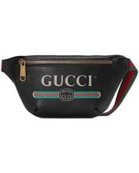 3e65d80e89fe Gucci Belt Bag - Women's Gucci Belt Bags - Lyst