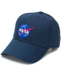 Alpha Industries - Nasa Logo Cap - Lyst