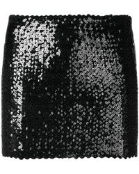 Faith Connexion - Sequin Mini Skirt - Lyst