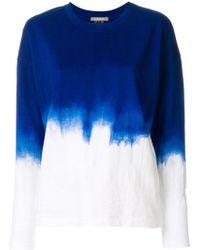 Suzusan | Dip Dye Long-sleeve T-shirt | Lyst