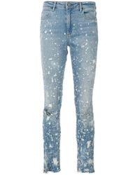 Alexander Wang - Whiplash Destroyed Jeans - Lyst