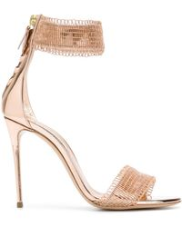 Casadei - Chainmail Sandals - Lyst