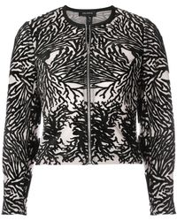 Yigal Azrouël - Coral Reef Burnout Jacket - Lyst
