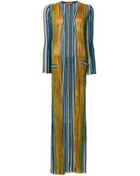 Missoni | Multi-stripe Floor Length Cardigan | Lyst