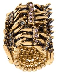Camila Klein - Strass Embellished Ring - Lyst