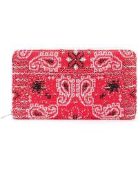 Coohem - Knit Tweed Bandana Wallet - Lyst
