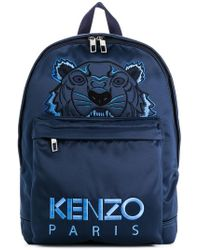 KENZO - Navy Limited Edition Holiday Tiger Backpack - Lyst
