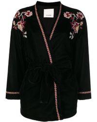 Pinko - Embroidered Kimono Jacket - Lyst