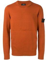 Stone Island - Classic Knit Sweater - Lyst
