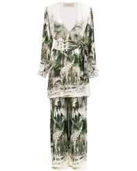 Adriana Degreas - Silk Pyjama Set - Lyst