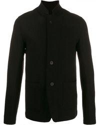 Transit Textured Shirt Jacket - Black