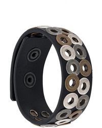 DIESEL - Eyelet Bracelet - Lyst