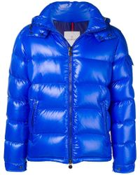 8601b505ab3d Lyst - Moncler Quilted Body-warmer Jacket in Blue for Men