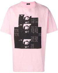 Raf Simons - T-shirt con stampa grafica - Lyst