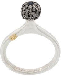 Rosa Maria - Studded Ball Ring - Lyst