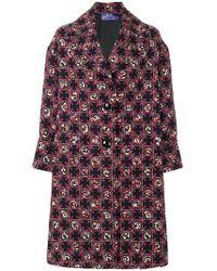Emilio Pucci - Printed Tailored Coat - Lyst
