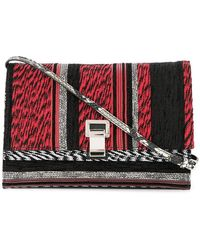 Proenza Schouler - Small Woven Lunch Bag With Strap - Lyst