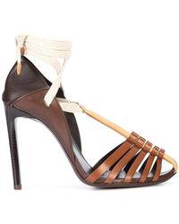 Sandales en cuir MajorelleSaint Laurent GGwh1jWEQ