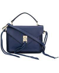 Rebecca Minkoff - Tassel Mini Shoulder Bag - Lyst