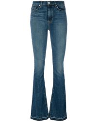 Hudson Jeans - Faded Bootcut Jeans - Lyst
