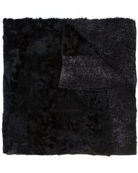 Avant Toi - Textured Shawl - Lyst
