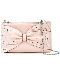 Christian Siriano - Embellished Bow Crossbody Bag - Lyst