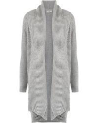 Egrey - Wool-blend Tricot Oversized Coat - Lyst