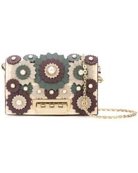 Zac Zac Posen - Earthette Appliqué Chain Card Case - Lyst